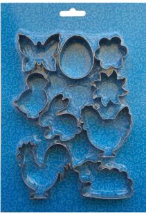 Ausstechformen Edelstahl - Ostermotive